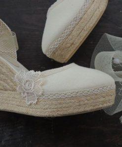 Alpargatas para novia