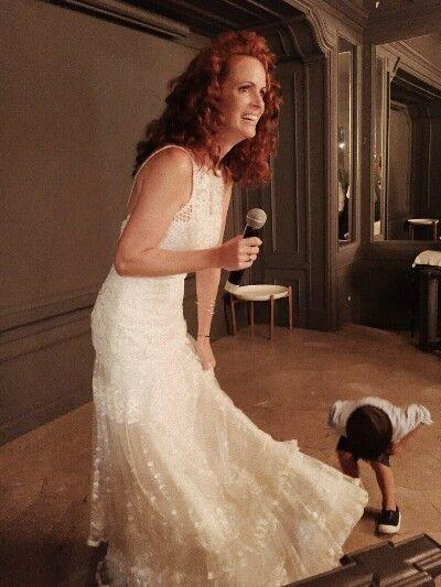 Lisa López Alpargatas para novia