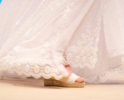 Alpargatas para novia o moda Adlib