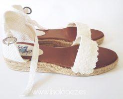 Sandalias para novia Blanche Mallorca