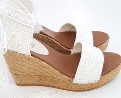Sandalias para novia Cayetana
