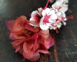 Tocado de porcelana Flor de Almendro