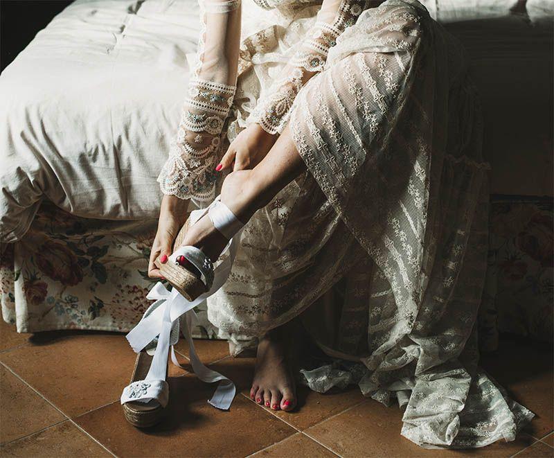alpargatas para novias