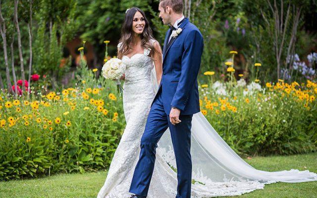 Lucía y Fabien, una boda de altura