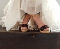 Sandalias para novia o invitada
