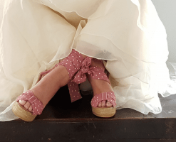 Sandalias para novia Malena