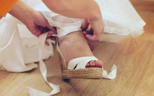 Cómo personalizar tus alpargatas de novia o invitada