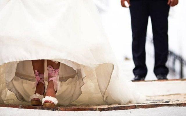 Madi y Jorge, una boda entre poesía y la yincana del amor