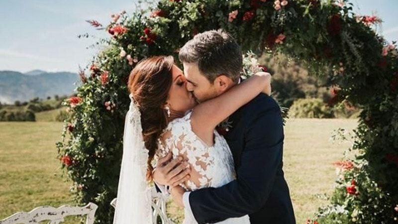 alpargatas de novia Roses Lisa Lopez