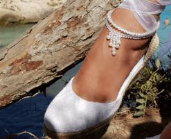 Tobillera perla Aria