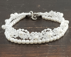 Tobillera perla Halia