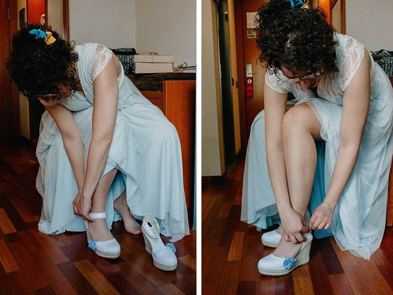 alpargatas de novia Lucía Sevilla de Lisa Lopez