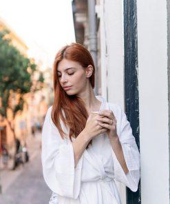 Kimono para novia Creta