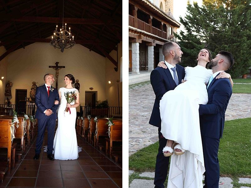 boda alpargatas lisa lopez