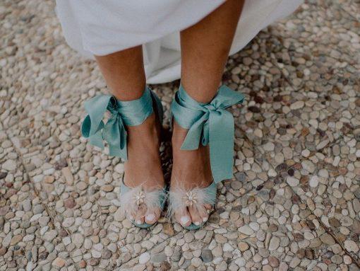 Sandalias para novia