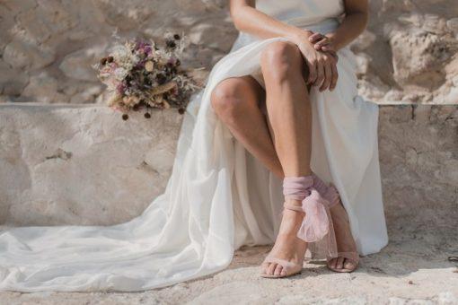 Sandalias de novia Calixta
