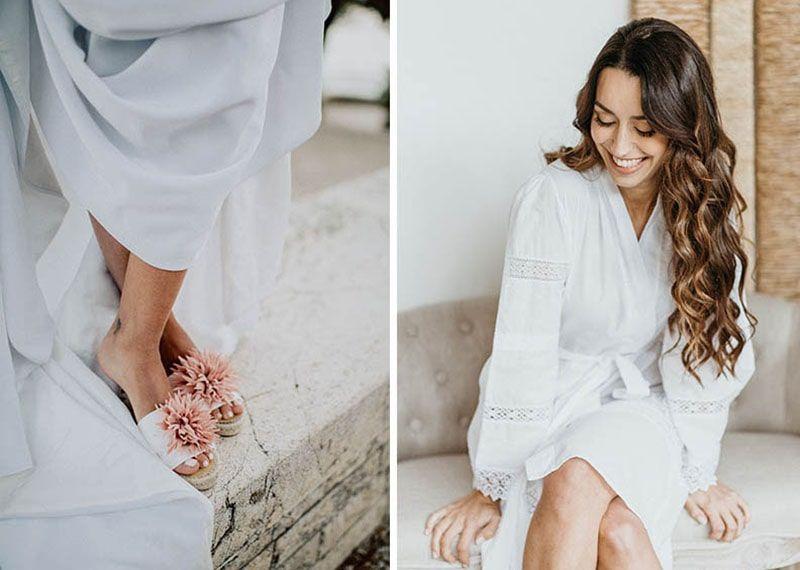 lisa lopez pack kimono alpargatas para novias