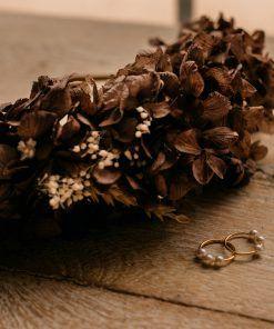 Diadema flores preservadas